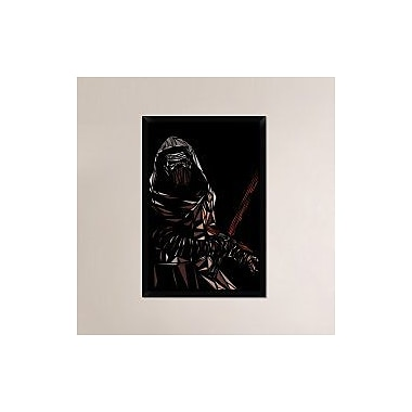 Naxart 'Kylo Ren' Framed Graphic Art Print on Canvas; 38'' H x 26'' W x 1.5'' D