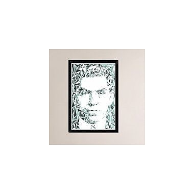 Naxart 'Lucky Luciano' Framed Graphic Art Print on Canvas; 32'' H x 22'' W x 1.5'' D