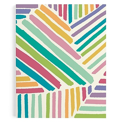 Erin Condren Academic Planner, Brushed Strokes (EC AP BS)