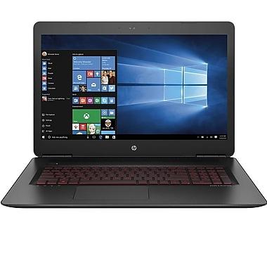 HP-Portatif de jeu OMEN 17-w252nr W2N53UA#ABA 17,3po, 2,8GHz Core i7-7700HQ, DD 1 To, 12 Go, NVIDIA GeForce GTX 1050 Ti, Win10
