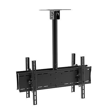 PRIME MOUNTS Full Motion Ceiling Dual TV mount 32-65