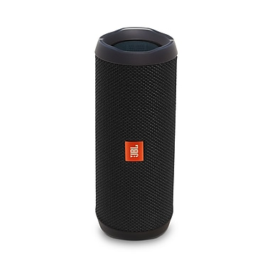 JBL Flip 4 Portable Bluetooth Speaker, Black