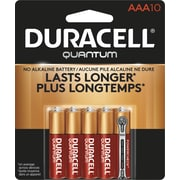 Duracell® Quantum AAA Alkaline Batteries, 10/Pack