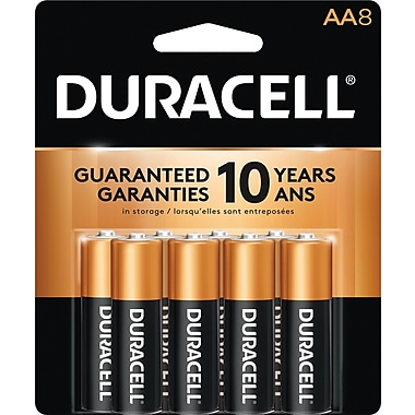 Duracell® - Piles alcaline AA, paq./8