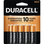Duracell® AA Alkaline Batteries, 8-Pack