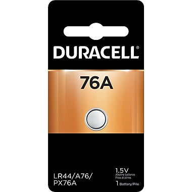 Duracell® MS76-1 1.5V Silver Oxide Coin Cell Photo Battery