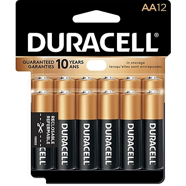Duracell® AA Alkaline Batteries, 12-Pack