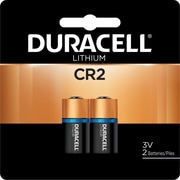 Duracell® CR2 3V Ultra Photo Lithium Battery, 2/Pack