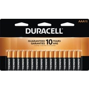 Duracell® Coppertop® AAA Alkaline Batteries, 16/Pack