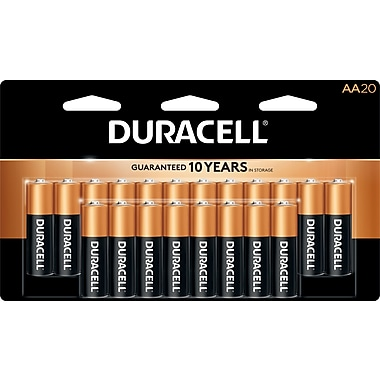 Duracell® AA Alkaline Batteries, 20-Pack