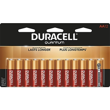 Duracell® – Piles alcalines AA Quantum, paq./12