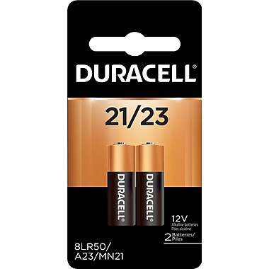 Duracell® Specialty Size #21, 2/Pack