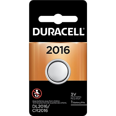 Duracell® DL2016 3V Lithium Security Battery