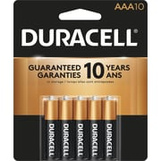 Duracell® - Piles alcalines AAA, paq./10