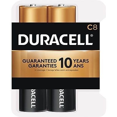 Duracell® C Alkaline Batteries, 8-Pack