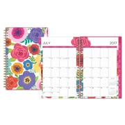 2017-2018 Blue Sky 5x8 Weekly/Monthly Planner, Mahalo (100153)