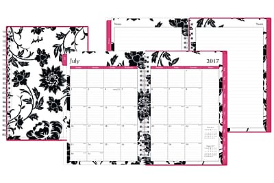 2017-2018 Blue Sky 5x8 Weekly/Monthly Planner, Barcelona (100083)