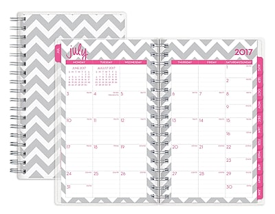 2017-2018 Dabney Lee for Blue Sky 3.625x6.125 Weekly/Monthly Planner, Ollie (103209)