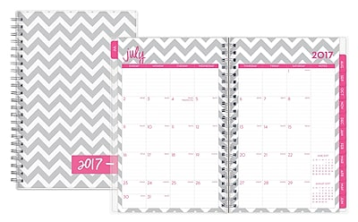 2017-2018 Dabney Lee for Blue Sky 5x8 Weekly/Monthly Planner, Ollie (103208)