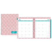 2017-2018 Dabney Lee for Blue Sky 8.5x11 Weekly/Monthly Planner, Fish Scales (103203)