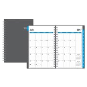 2017-2018 Blue Sky 5x8 Weekly/Monthly Planner, Collegiate (100139)