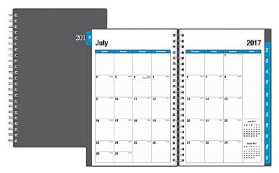 2017-2018 Blue Sky 5x8 Weekly/Monthly Planner, Collegiate (100139)
