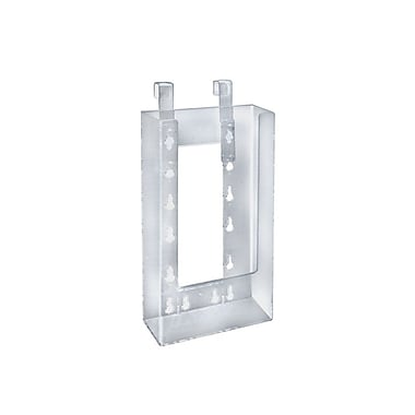 Azar Displays Tri-Fold Size Hanging Brochure Holder, 10/Pack (252340)