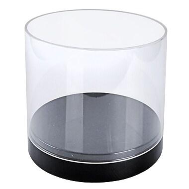 Azar Displays – Vitrine cylindrique transparente de luxe, 10 po (300688)