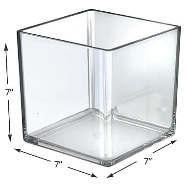 Azar Displays Deluxe Cube for Countertop, 7