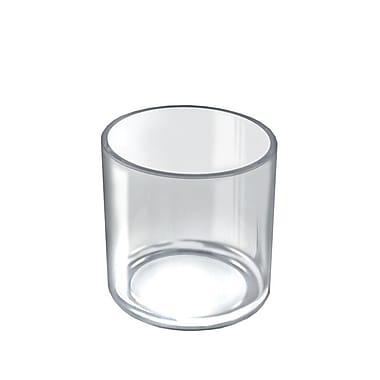 Azar Displays – Bac cylindrique de luxe pour comptoir, 4/paquet