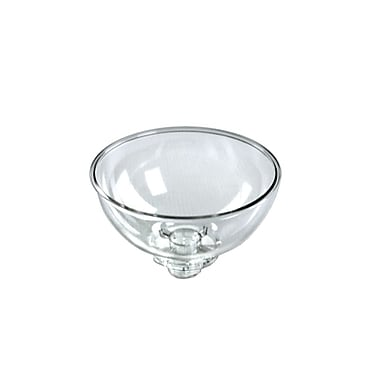 Azar Displays Plastic Bowl, Clear, 8