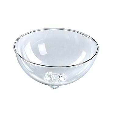 Azar Displays – Bol en plastique, transparent, 12 po (700922)