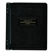 Blueline® livre de la compagnie (Company Record Book) French