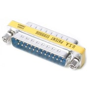 StarTech.com DB25 Slimline Gender Changer M/M, Cable Adapter