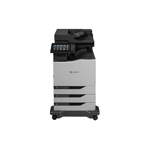 Lexmark CX825dte Laser Multifunction Printer, Color, Plain ...