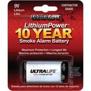 Ultralife U9VL-JPXC 9 V Lithium Battery, -20 deg C To 60 deg C Operating Temperature