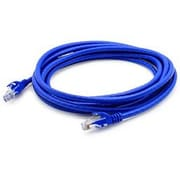 AddOn 50ft Blue Molded Snagless Cat6A Patch Cable