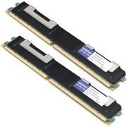 AddOn AM400D2R3/1G IBM 73P2866 Compatible Factory Original 2GB (2x1GB) DDR2-400MHz Registered ECC Dual Rank 1.8V 240-pin CL3