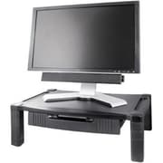 Kantek Single Level Adjustable Monitor Stand With Drawer
