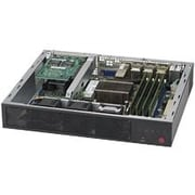 Supermicro SuperServer E300-8D 1U Mini PC Server, 1 x Intel Xeon D-1518 Quad-Core 2.20 GHz DDR4 SDRAM, Serial ATA/600 Controller