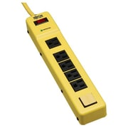 Tripp Lite Safety Surge Protector Power Strip 120V 6 Outlet Metal 6' Cord OSHA
