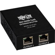 Tripp Lite DVI Over Cat5/Cat6 Video Extender Splitter 2-Port Transmitter 200'