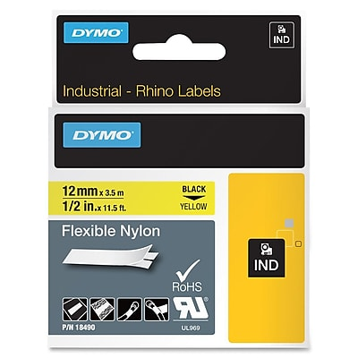 Dymo Rhino Flexible Nylon Labels (18490)