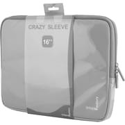 """Urban Factory MSC12UF Carrying Case (Sleeve) for 16"""" Notebook, Gray"""