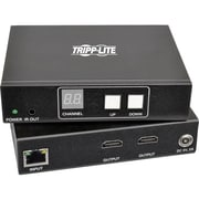 Tripp Lite 2-Port HDMI Over IP Extender Kit w/ RS-232 Serial & IR Control TAA