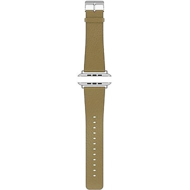 Cygnett Luxband Leather Apple Watch Band, Classic Tan
