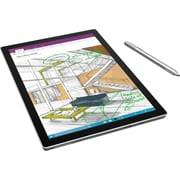 "Microsoft Surface Pro 4 Tablet, 12.3"", 4 GB, Intel Core M (6th Gen) Dual-core (2 Core), 128 GB SSD, Windows 10 Pro, 2736 x 1824"
