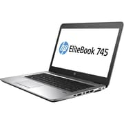 "HP EliteBook 745 G4, 14"" Laptop Computer, AMD A-Series A12-9800B, 512 GB SSD, 16GB, Windows 10 Pro, AMD Radeon R7 (1FX57UT#ABA)"