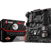 MSI B350 TOMAHAWK Desktop Motherboard, AMD Chipset, Socket AM4