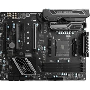 MSI X370 SLI PLUS Desktop Motherboard, AMD Chipset, Socket AM4